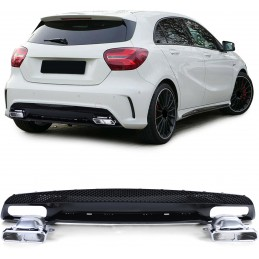 Kit for bumper AMG Mercedes looks A45
