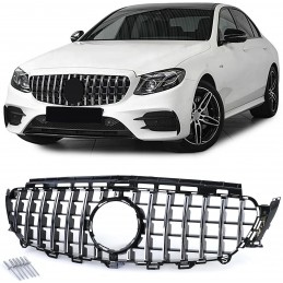 Grille for Mercedes E-Class look AMG E63 Panamericana