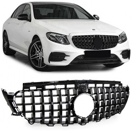 Black grille for Mercedes E class AMG E63 GT look