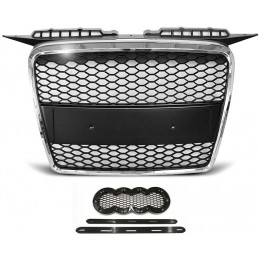 Grille for Audi A3 look RS3 chrome