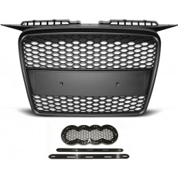 Grille for Audi A3 look RS3 black