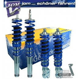 BMW series 3 E36 Compact shock absorbers combined spring threaded Kit