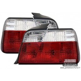 Lights rear BMW E36 Crystal Red White 398