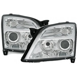 Front headlights angel eyes Opel Signum and Vectra C